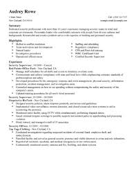 summary in resume examples best security supervisor resume example livecareer create my resume