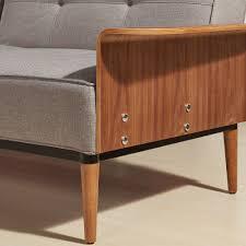 Klik Klak Sofa by Grayson Klik Klak Sofa In Grey Convertible Sofas U0026 Daybeds