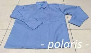 Seragam Sekolah Lengan Panjang jual seragam sekolah lengan panjang warna biru no 13 doraree27