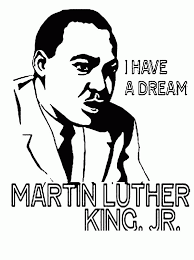 Randomized I Have A Dream Say Martin Luther King Jr Coloring Page Mlk Coloring Pages