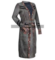 sails s3 anne bonny leather trench coat