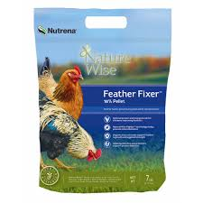 Question And Answer With Fixer by Nutrena Naturewise Feather Fixer Chicken Feed