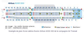 comment choisir le meilleur siège dans l avion voyages bergeron