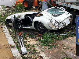 vintage toyota million dollar toyota 200gt crushed by falling tree business insider