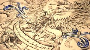 st michael tattoo design speed drawing youtube