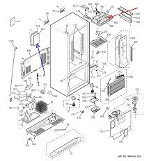 ge refrigerator digital temperature indication for both fridge and