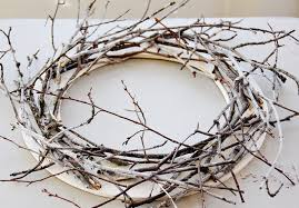 christmas twig wreath twig wreath simple and very friendly