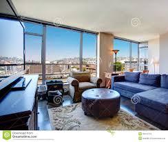 modern city apartment living room stock photo image 39414744