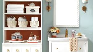 Ways To Decorate A Small Bathroom - find your way to organization with clear containers