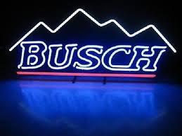 busch light neon sign busch beer sign neon zeppy io
