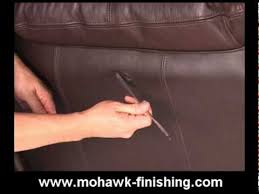 How To Fix Scratched Leather Sofa 47 How To Repair Leather Scrapes And Abrasions By Mohawk Finishing