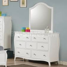 White Bedroom Dressers And Chests Kids Bedroom Sets Dominique Youth White 5 Pc Bedroom Set Bed