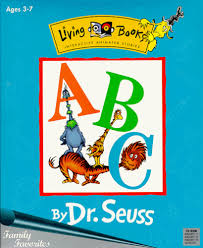 De Seuss Abc Read Aloud Alphabeth Book For Living Books Abc By Dr Seuss