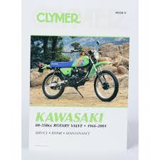 clymer kawasaki repair manual m350 9 dirt bike motorcycle