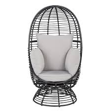 buy john lewis dakara fusion cabana swivel pod chair black