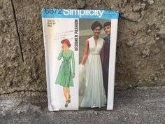 70 u0027s simplicity 7434 pattern misses u0027 bias dress size 16 bust 38