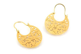 gipsy earrings sewart contemporary jewellery gallery plymouth