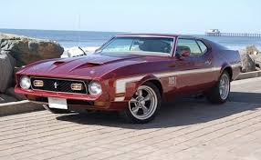 maroon 1971 mustang paint cross reference