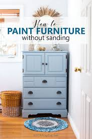 how to paint a dresser without sanding coastal cottage painted