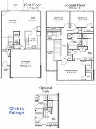 2 story home plans crafty inspiration 2 story house floor plans with basement five