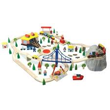 imaginarium train table 100 pieces imaginarium 100 piece mountain rock train table