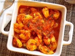 comment cuisiner les crevettes congel馥s crevettes sauce tomate facile le cuisine de samar
