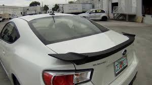 subaru spoiler subaru brz scotchprint carbon fiber hood u0026 spoiler u0026 mirror vinyl