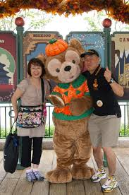 parks and rec halloween making halloween memories with duffy the disney bear at epcot
