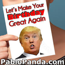 30th birthday card donald trump card from pablopanda on etsy