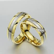couples wedding rings vnox trendy wedding ring 316l stainless steel metal cz zircon