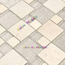 Tile Sheets For Kitchen Backsplash Online Buy Wholesale Stone Mosaic Tile Sheets Kitchen Backsplash