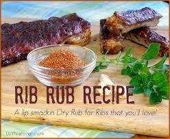 dry rub for ribs homemade rib rub recipe with no sugar