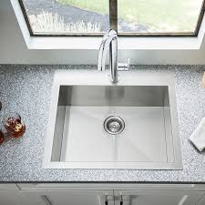 Faucetcom SB In Stainless Steel By American Standard - American standard kitchen sink