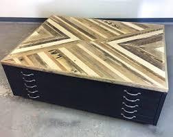 Wood Flat File Cabinet Flat File Etsy