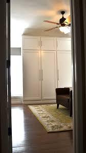 the happy homebodies reveal diy custom built in wardrobe closet
