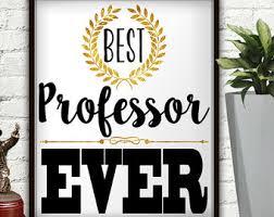 professor gift etsy