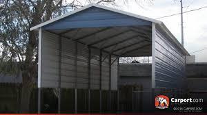 Car Port Roof Rv Cover 12 U0027 X 31 U0027 With A Frame Metal Roof Shop Carports Online