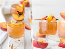 homemade peach tea vodka plus the spiked peach arnold palmer