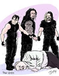 monday night draw the shield attack kane wrestlingnewssource com