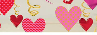 valentines decorations s day decorations party packs