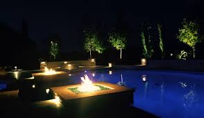 frisco landscape lighting and fire features