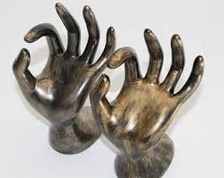 golden hand ring holder images Hand jewelry holder etsy jpg
