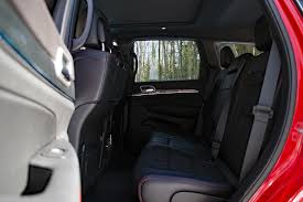 jeep grand cherokee interior seating 2017 jeep grand cherokee trailhawk review autoguide com news