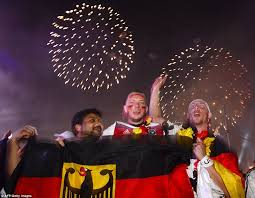 germany s world cup triumph celebrated by 200 000 on streets of