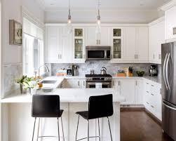 Kitchen Furniture For Small Kitchen Small Kitchen With White Cabinets Interior Design