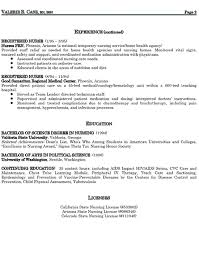 Examples Of Registered Nurse Resumes by Inspiring Registered And Licensed Nursing Resume Example With