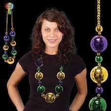 jumbo mardi gras mardi gras jumbo bead necklace party party