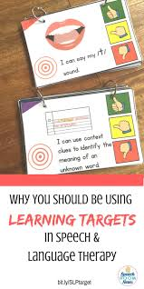 sample resume for speech language pathologist best 25 speech language pathology ideas only on pinterest why you should be using learning targets in speech and language therapy from speech room