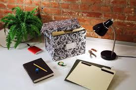 Decorative Hanging File Boxes Amazon Com Snap N Store Letter Size File Box Black Sns01533