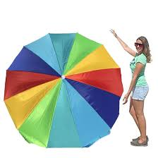 Big W Beach Umbrella Amazon Com Easygo Rainbow Beach Umbrella Portable Wind Beach